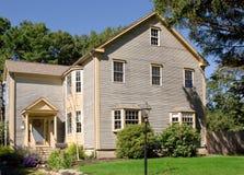 Casa moderna exclusiva de la granja imagen de archivo