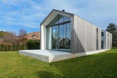 Casa moderna, exterior fotos de stock