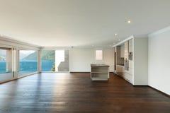 Casa moderna hermosa, interior Fotografía de archivo