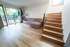 Casa moderna interior Imagen de archivo libre de regalías
