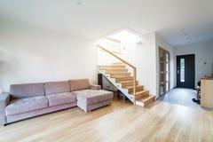 Casa moderna interior Fotografía de archivo libre de regalías
