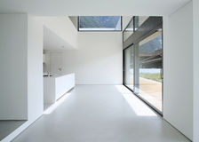 Casa moderna interna Immagini Stock