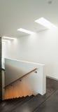 Casa moderna interna, scala Immagine Stock