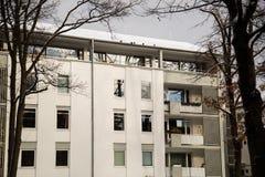 Casa moderna a Monaco di Baviera Fotografia Stock