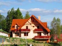 Casa moderna rurale Fotografia Stock