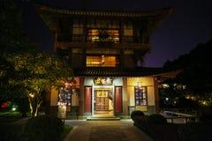 Casa modernizzata cinese Fotografia Stock