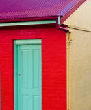 Casa molto colourful Fotografia Stock Libera da Diritti