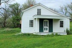 Casa mormona original del transbordador del rastro Fotos de archivo libres de regalías