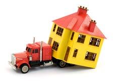 Casa movente Imagem de Stock Royalty Free