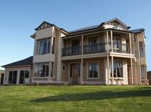 Casa muito grande de 2 andares Foto de Stock Royalty Free
