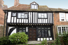 Casa muito velha do tudor Imagem de Stock Royalty Free