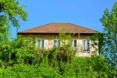 Casa muito velha na cidade velha Maglaj Foto de Stock