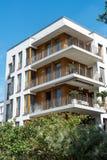 Casa multifamiliare moderna a Berlino Immagini Stock