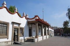 Casa Municipal In Center Of Coyoacan Mexico City Stock Photo