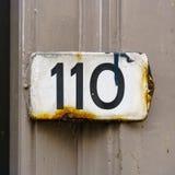 Casa número 110 imagen de archivo