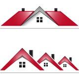 Casa número uno del proyecto stock de ilustración