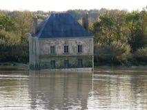 "Casa na água em Couà ""ron no francês brittany Fotografia de Stock Royalty Free"