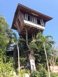 Casa na árvore Imagens de Stock