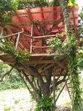 Casa na árvore Foto de Stock Royalty Free