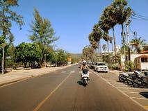Casa na bicicleta Imagens de Stock