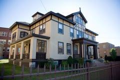 Casa na cidade pequena Foto de Stock