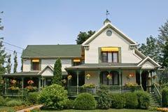 Casa na cidade rural. Fotografia de Stock