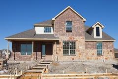 Casa na construção Fotos de Stock