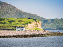 Casa na costa Foto de Stock