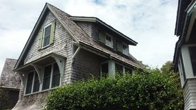 Casa na ilha da cabeça calva, North Carolina, EUA Imagem de Stock Royalty Free