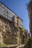Casa na mola superior do enxofre do bathhouse em tbilisi fotografia de stock royalty free