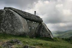 Casa na montanha imagem de stock