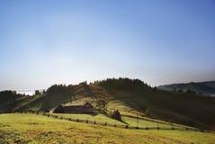 Casa na montanha Imagens de Stock