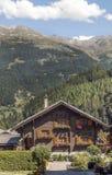 Casa na montanha Fotografia de Stock Royalty Free