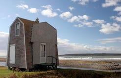 Casa na praia Imagens de Stock Royalty Free