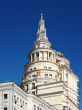 A casa na rua Moscou de Malaya Bronnaya Imagens de Stock Royalty Free