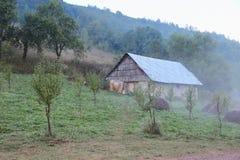 Casa na vila Foto de Stock
