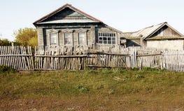 Casa na vila do russo Imagens de Stock