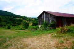 Casa nas montanhas Imagens de Stock Royalty Free