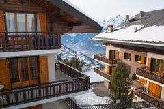 Casa nas montanhas Imagem de Stock Royalty Free