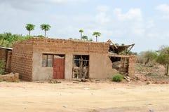 Casa nas ruínas Imagem de Stock