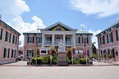Casa Nassau del gobierno Imagenes de archivo