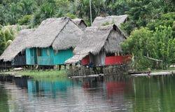 Casa nativa foto de stock