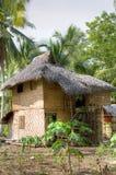 Casa nativa de la tribu de Mandaya Foto de archivo libre de regalías