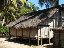 Casa nativa malgache imágenes de archivo libres de regalías