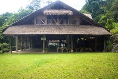 Casa nativa nas Filipinas imagens de stock royalty free
