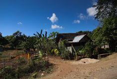 Casa nel Madagascar Fotografia Stock
