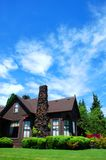 Casa nel paese Fotografie Stock