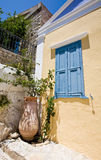 Casa Neo-Classical em Greece Fotografia de Stock Royalty Free