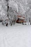 Casa nevada royalty free stock photos