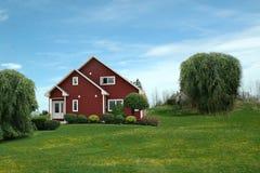Casa no campo Foto de Stock